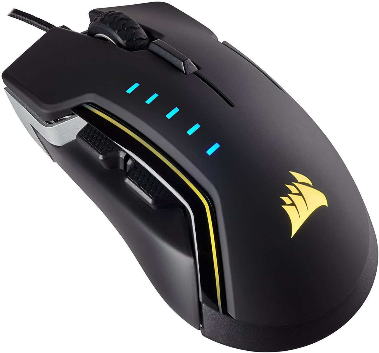 "Corsair Glaive RGB Ottico 16000DPI 6 Tasti PC/Xbox One ""Corsair Renewed"""